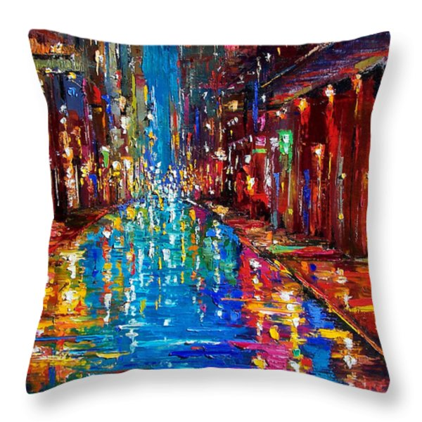Jazz Drag Throw Pillow by Debra Hurd