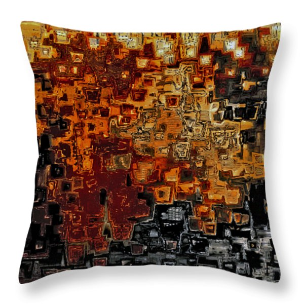 Jesus Christ The Counselor Throw Pillow by Mark Lawrence