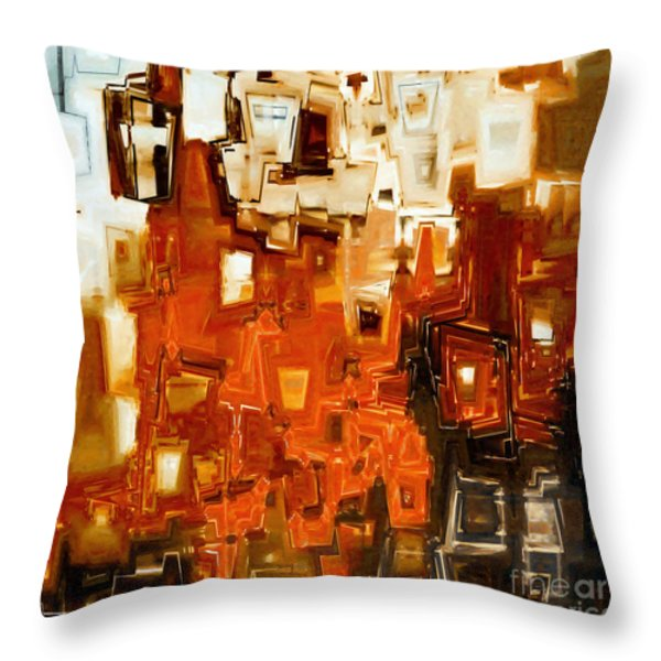 Jesus Christ The Truth Throw Pillow by Mark Lawrence