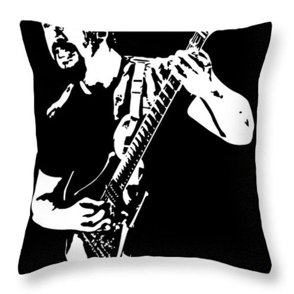 John Petrucci No.01 Throw Pillow by Caio Caldas