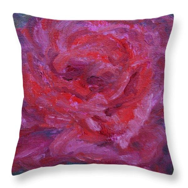 Joyful Throw Pillow by Quin Sweetman
