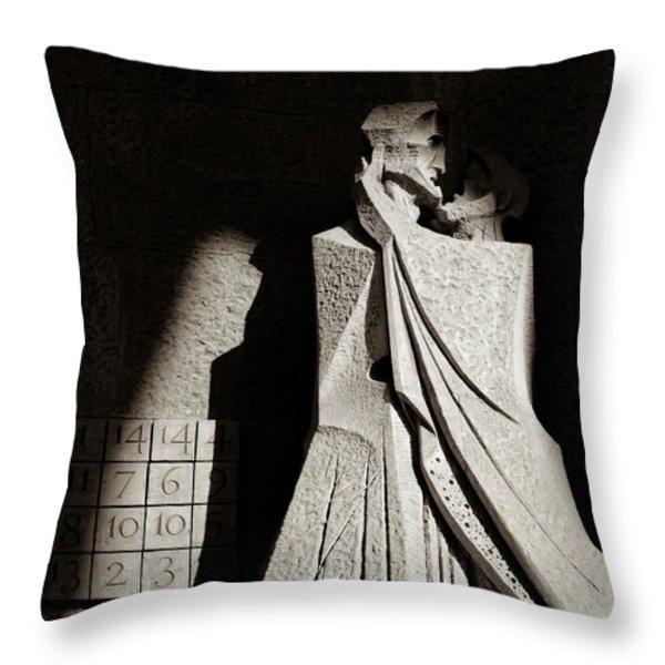 Judas Treason Throw Pillow by Dave Bowman