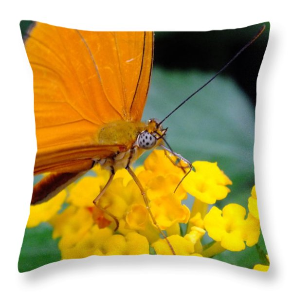 Julia Throw Pillow by Peggy King