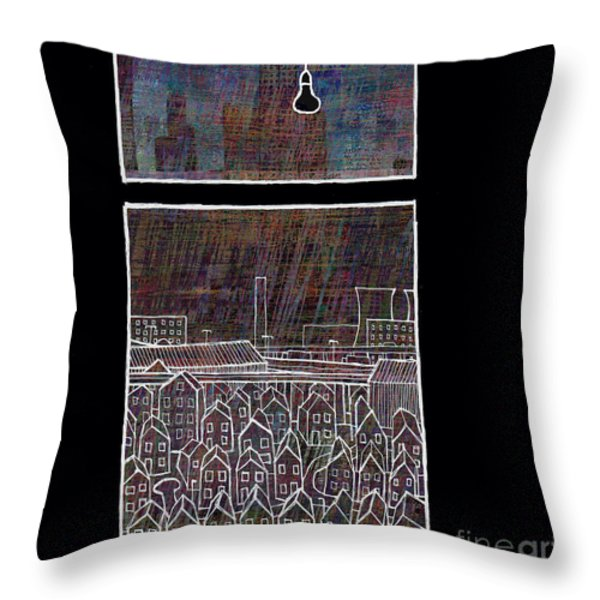Just Another Rainy Day In The North Throw Pillow by Andy  Mercer
