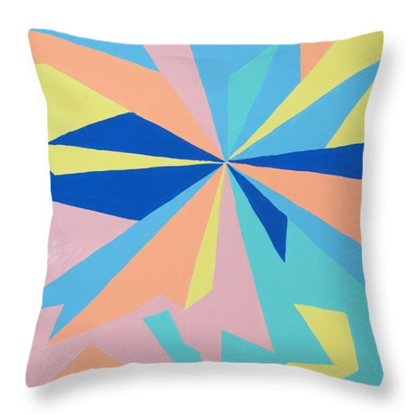 JUST CRAZY Throw Pillow by Robert Margetts