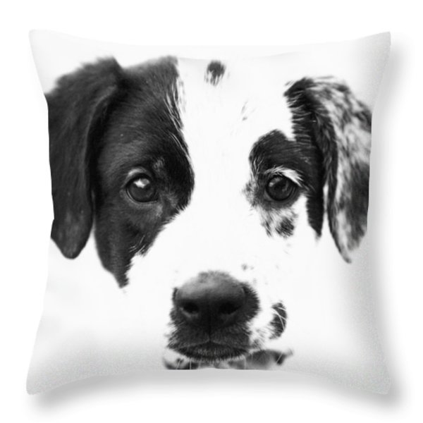 Karma Throw Pillow by Amanda Barcon