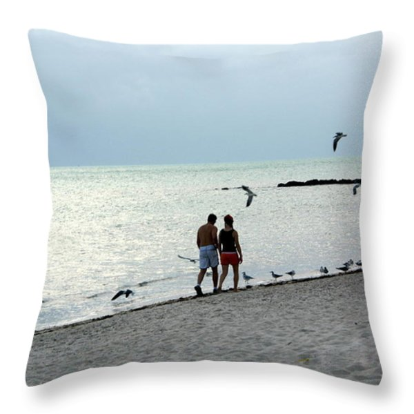 Key West Throw Pillow by Marty Koch