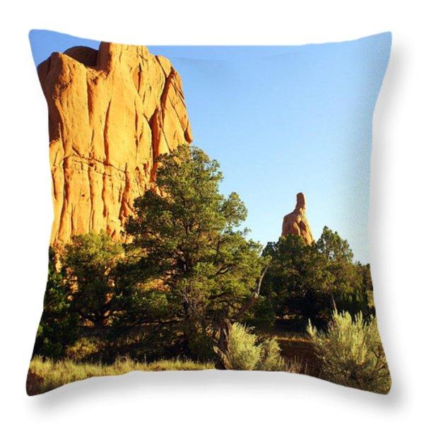 Kodachrome Basin I Throw Pillow by Marty Koch
