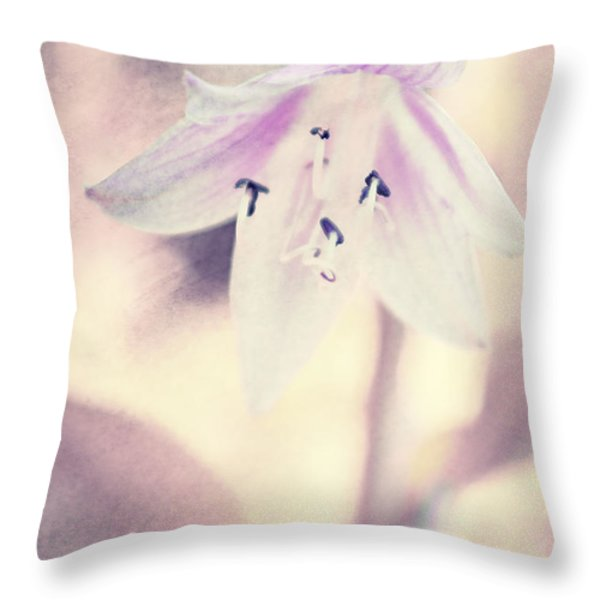 La Belleza Throw Pillow by Angela Doelling AD DESIGN Photo and PhotoArt