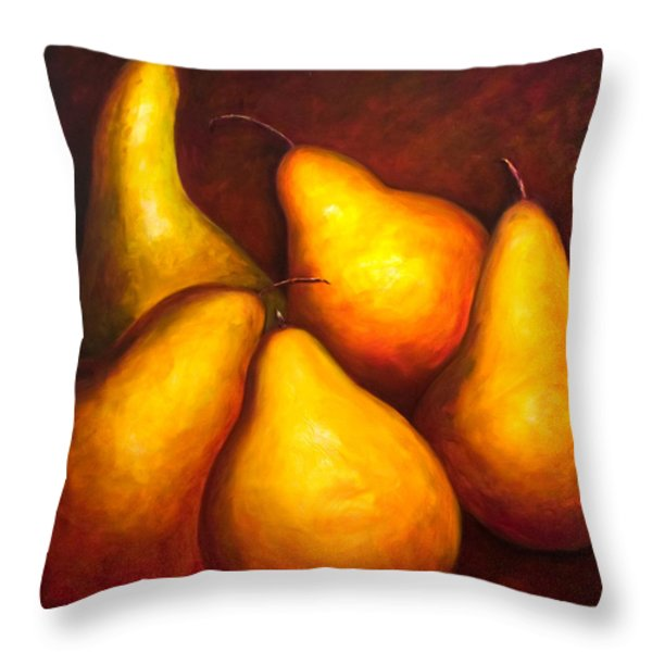 La Familia Throw Pillow by Shannon Grissom