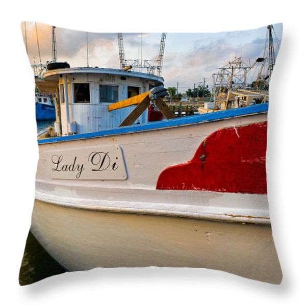 Lady Di Throw Pillow by Christopher Holmes