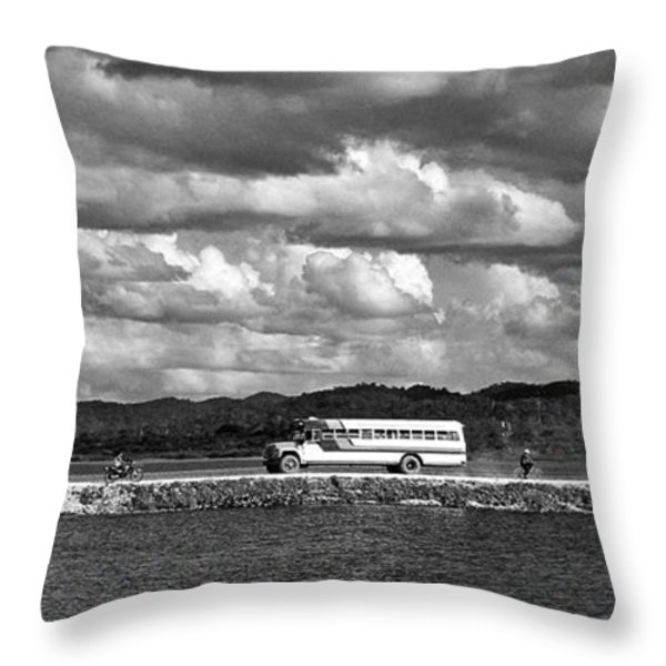 Lago Peten Itza - Guatemala Throw Pillow by Juergen Weiss