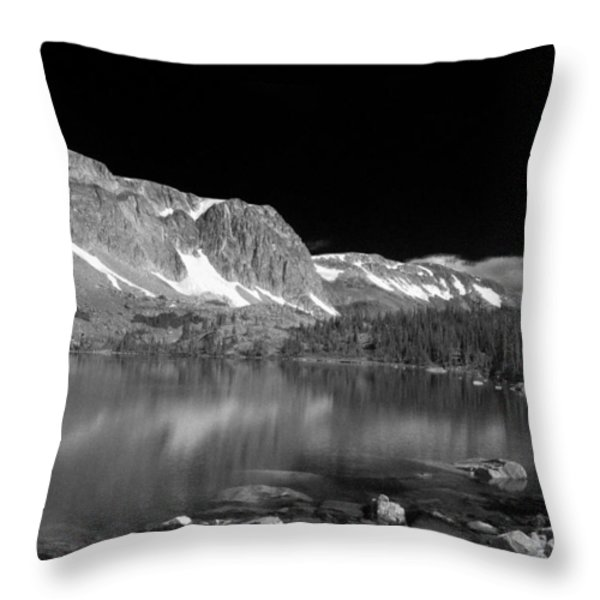Lake Marie and Company Throw Pillow by Nena Trapp