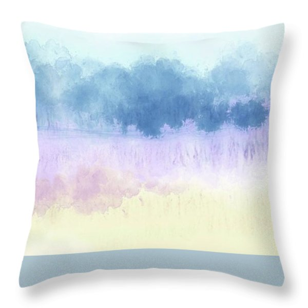 Landscape Throw Pillow by W I L L Alexander
