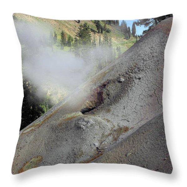 Lassen Volcanic Wilderness Throw Pillow by Christine Till