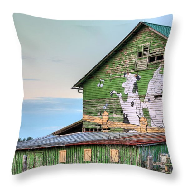 Lets Dance Throw Pillow by JC Findley