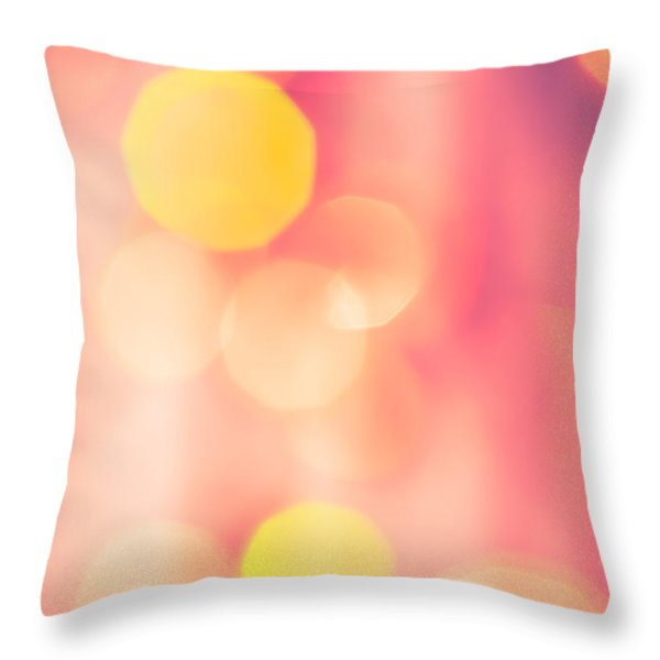 Let's Party Throw Pillow by Jan Bickerton