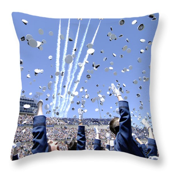 Lieutenants Commemorate Throw Pillow by Stocktrek Images