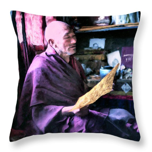 Life Lessons Throw Pillow by Dominic Piperata