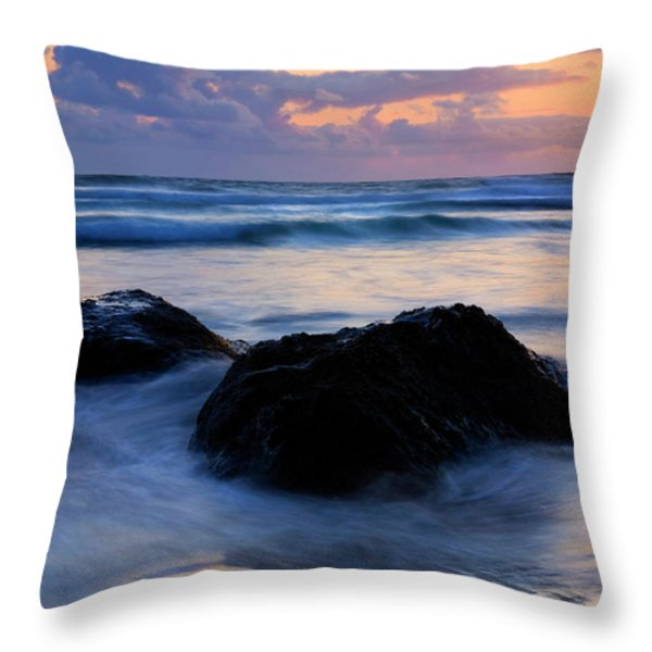 Light Of Dusk Throw Pillow by Mike  Dawson