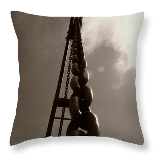 Link Throw Pillow by Brian Roscorla