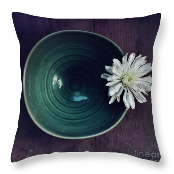 live simply Throw Pillow by Priska Wettstein