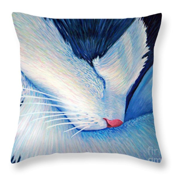 Living The Dream Throw Pillow by Brian  Commerford