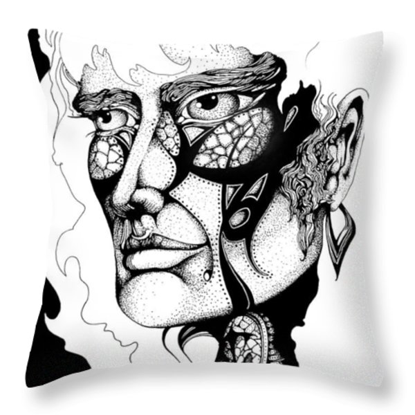 Lord Of The Flies Study Throw Pillow by Curtiss Shaffer