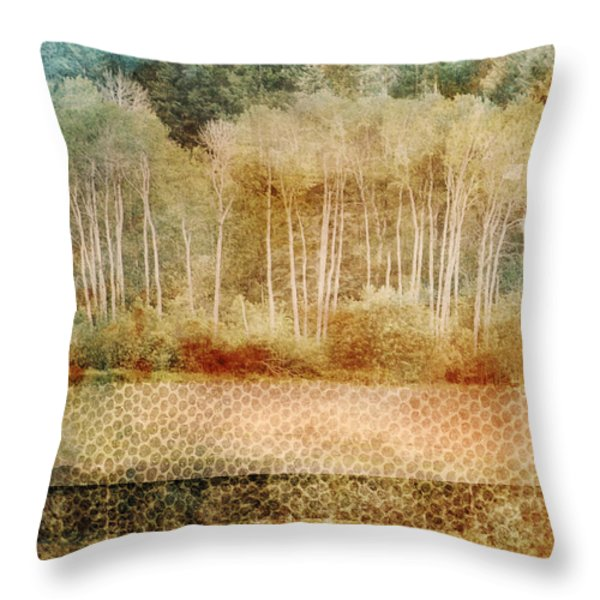 Loss of Memory Throw Pillow by Tara Turner