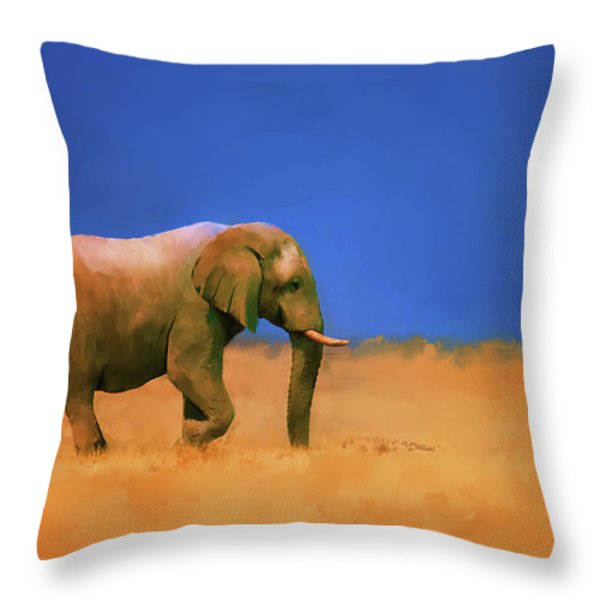 Lost Again Throw Pillow by Michael Greenaway