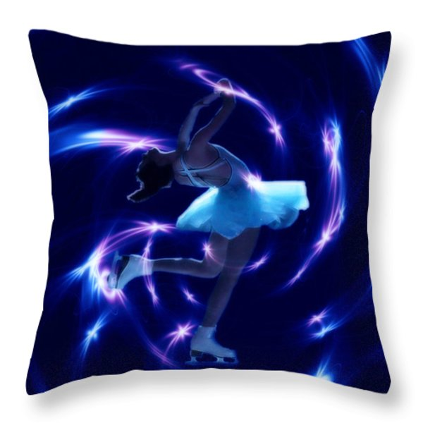 Lost In A Moment Throw Pillow by Cathy  Beharriell