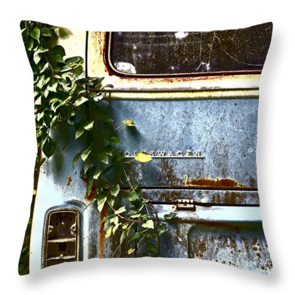 Lost In Time Throw Pillow by Carolyn Marshall