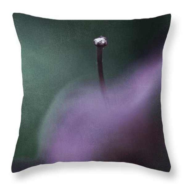 Love Is Sweet Misery Throw Pillow by Laurie Search