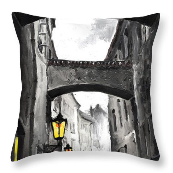 love story Throw Pillow by Yuriy  Shevchuk