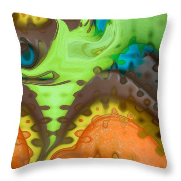 Lucid Dreaming Throw Pillow by Linda Sannuti