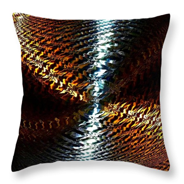Luminous Energy 10 Throw Pillow by Will Borden