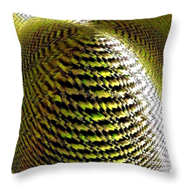 Luminous Energy 11 Throw Pillow by Will Borden