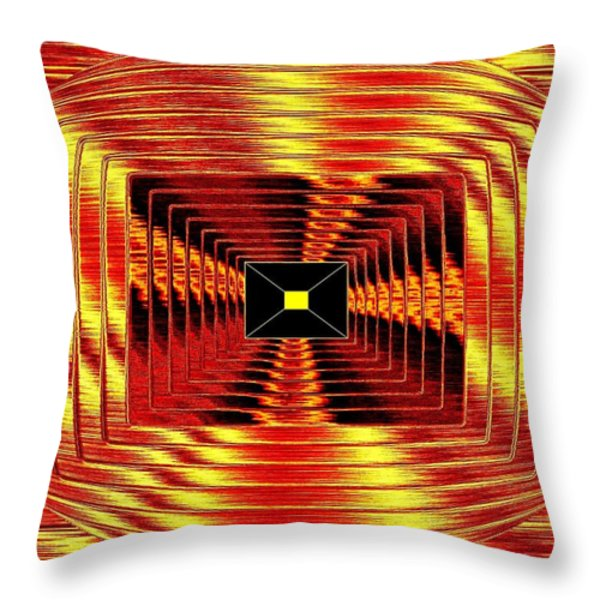 Luminous Energy 12 Throw Pillow by Will Borden