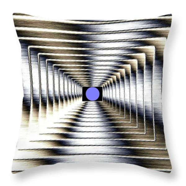 Luminous Energy 6 Throw Pillow by Will Borden