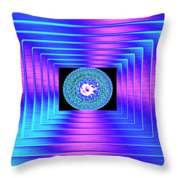 Luminous Energy 9 Throw Pillow by Will Borden