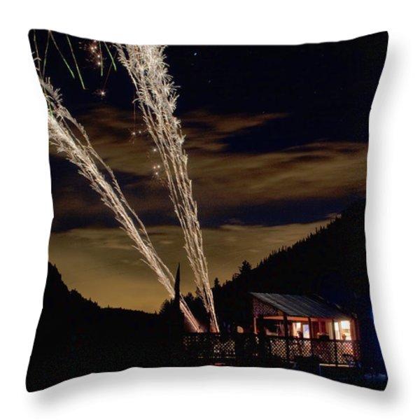 Magic Mountain Throw Pillow by James BO  Insogna