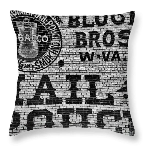 Mail Pouch Days Throw Pillow by Paul W Faust -  Impressions of Light