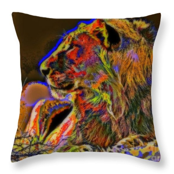Majestic Throw Pillow by WBK
