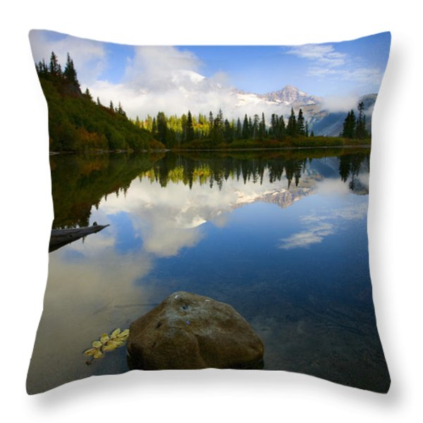 Majesty Revealed Throw Pillow by Mike  Dawson