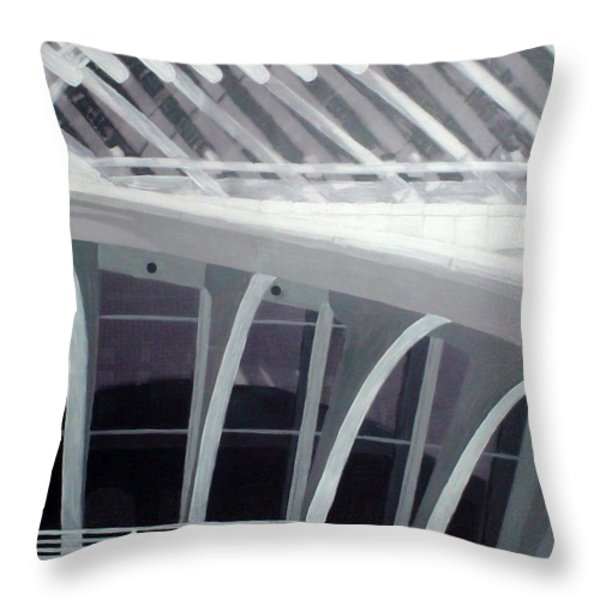 Mam Close Up Throw Pillow by Anita Burgermeister