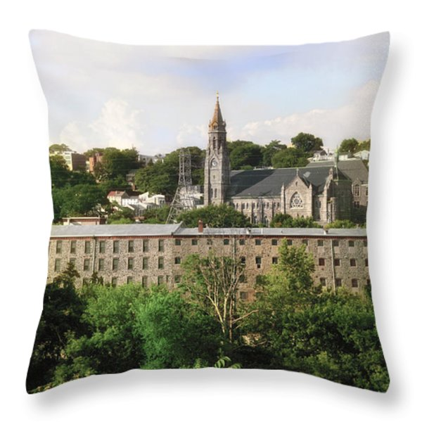 Manayunk Throw Pillow by Bill Cannon