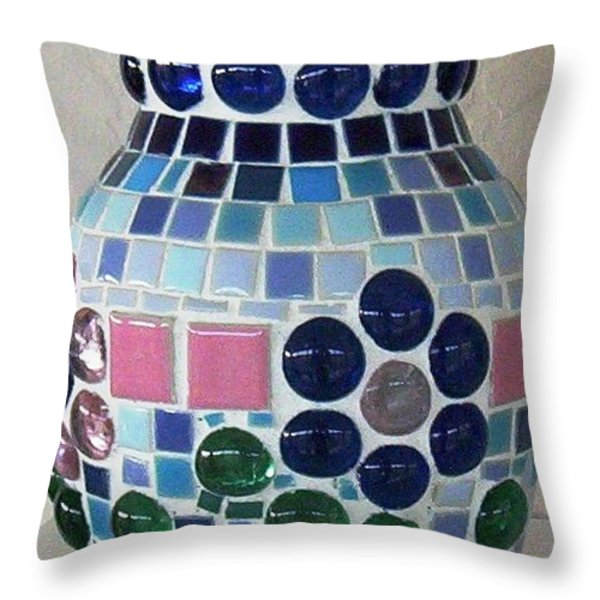 Marble Vase Throw Pillow by Jamie Frier