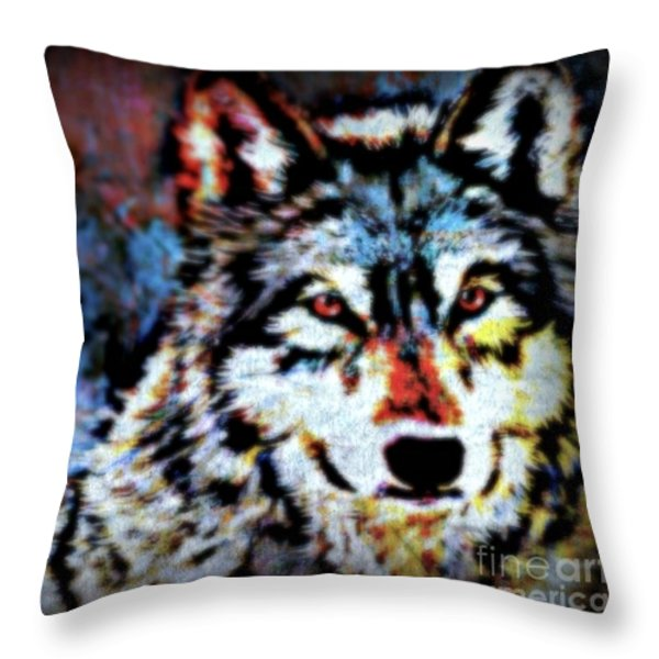 Maternal Throw Pillow by WBK
