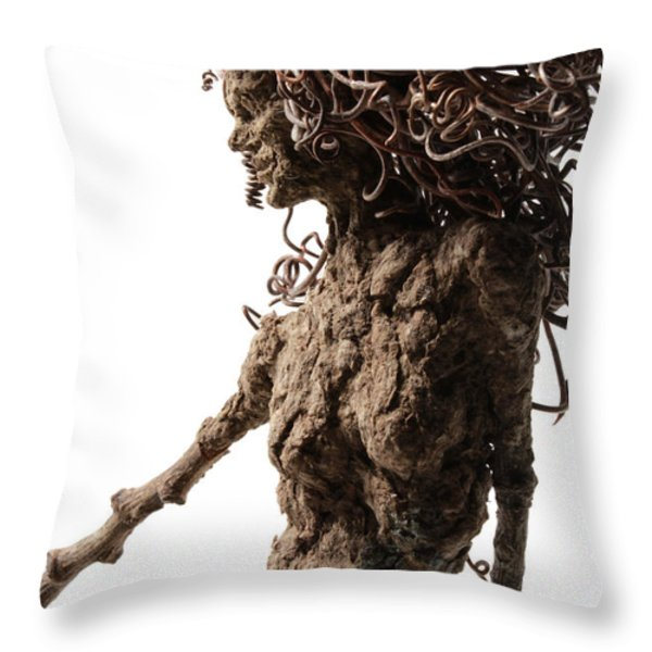 Matutinal... detail Throw Pillow by Adam Long