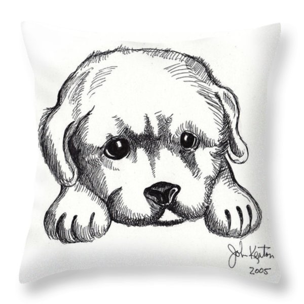 Maya 2 Throw Pillow by John Keaton